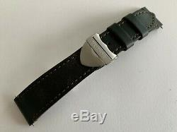100% Authentic New Tudor Black bay S & G Brown Aged leather strap with buckle