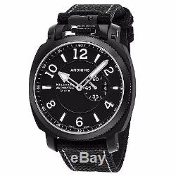 Anonimo Men's Militare Black Leather Strap Swiss Automatic Watch AM100002003A01