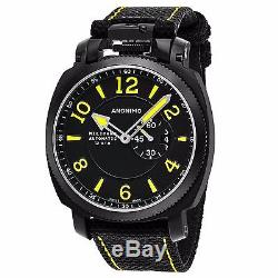 Anonimo Men's Militare Black Leather Strap Swiss Automatic Watch AM100002004A01