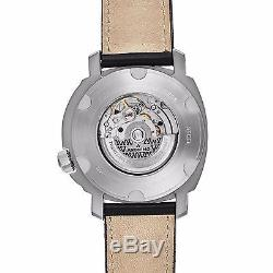 Anonimo Men's Sailor Swiss Automatic Black Leather Strap Watch AM200002004A01