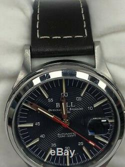 BALL OFFICIAL STANDARD NM2188C 40mm Leather Strap Watch