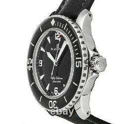 Blancpain Fifty Fathoms Auto 45mm Steel Mens Strap Watch Date 5015-1130-52A