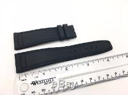 Brand new IWC Black Nylon and Leather band strap