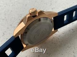 Bronze Divers watch 200m Automatic NH35 Box Inc NEW 40mm boxed Inc 2 straps