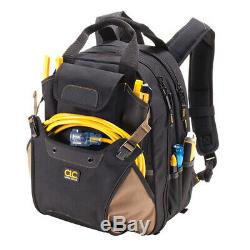 CLC 1134 Professional 44 Pocket Backpack Tool Bag Carrier Padded Straps New