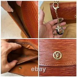 Certified Auth. Louis Vuitton Brown Epi Leather Cross Body Us Seller