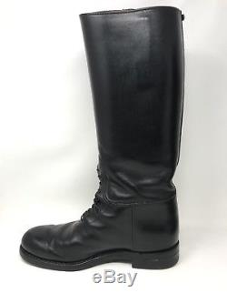 Dehner Top Strap Patrol Boot with Laced Instep Motorcycle Men's Size 10.5