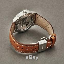 Eterna Men's Adventic Grey Dial Leather Strap Automatic Watch 7661.41.56.1352