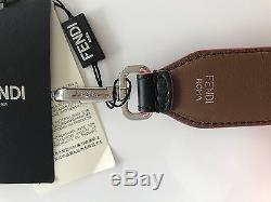 FENDI Black Leather With Studs Shoulder Purse STRAP YOU SOLD OUT NEW WITH TAG