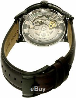 Fossil Men's Townsman ME3098 Brown Leather Automatic Self Wind Fashion Watch