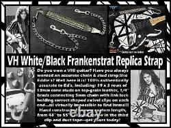 Frankenstrat Eruption'78 and/or Shark leather/stud/chain replica strap