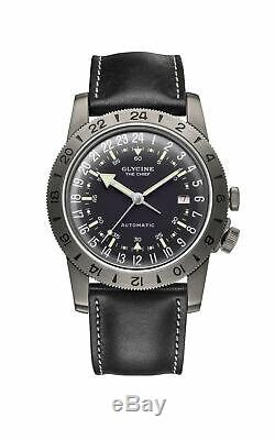 Glycine Men's GL0252 Airman Vintage The Chief Purist Automatic 40mm Watch