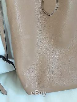 Gucci Ramble Reversible Leather With Strap Black/Tan Tote Bag