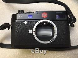 Leica M 240 Camera Body, With Thumbs Up Grip, Cub and Co Leather Strap
