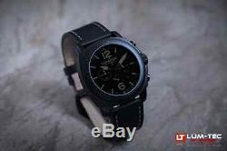 Lum-Tec Watch M74S (40mm) Mens with Two Straps Limited Edition AUTHORIZED DEALER