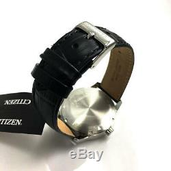 Men's Citizen Dress Automatic Black Leather Strap Watch NH8350-08A
