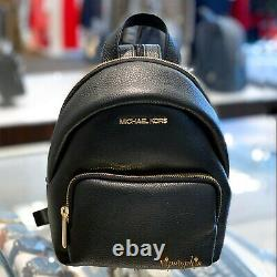 Michael Kors Erin Small Convertible Backpack Leather Black