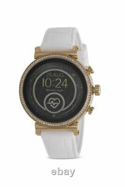 Michael Kors Women's MKT5067 Access Sofie Smartwatch With Silicone Strap