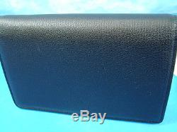NWT Givenchy Pandora Black Leather Chain Strap Wallet