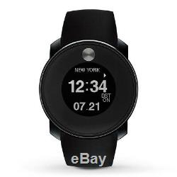 New Unisex Movado (3600365) Bold Touch 2 Digital Black Silicone Strap Watch