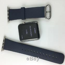 Original Apple Watch Classic buckle leather band 42mm 44mm Genuine leather strap