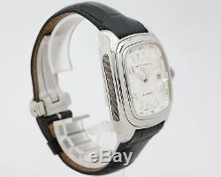 Pre-Owned David Yurman Thoroughbred Belmont T310-XST with Box on Leather Strap