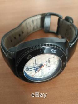 Ralf Tech WRX Ematic MoP black steel leather strap 400m divers limited 583/1500