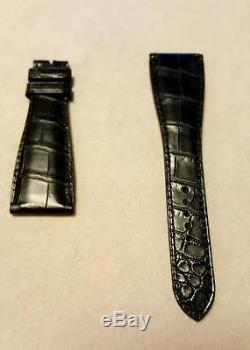 Roger Dubuis Black Leather Strap for Much More M34 Long