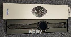 Samsung Galaxy Watch3 R840 45mm Stainless Steel Case with Leather Strap PRISTINE