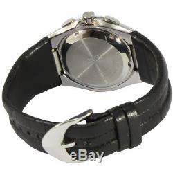 Seiko Arctura SNL031 P1 Kinetic Leather Strap Black Dial Automatic Men's Watch