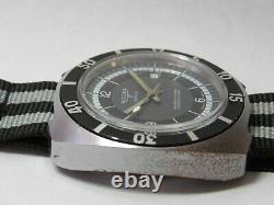 Sicura Breitling Jumbo Diver Mens Vintage Watch, Working Well, With 3 Straps