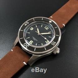 Vintage Automatic Diving Watches Stainless Steel Male Automatic Wrist watch NH35