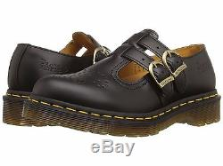 Women's Shoes Dr. Martens 8065 Double Strap Mary Jane 12916001 Black New